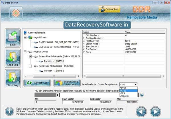 Windows 7 USB Digital Media Data Recovery Software 5.8.4.1 full